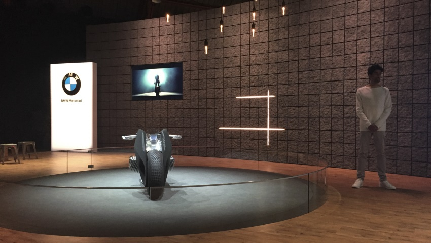 "Project-Steering: ""ICONIC IMPULSES. THE BMW GROUP FUTURE EXHIBITION"", Santa Monica, 2016"