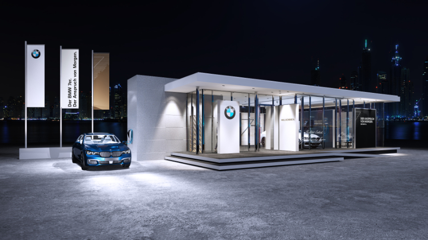 Design: BMW Luxury Exellence Pavilion