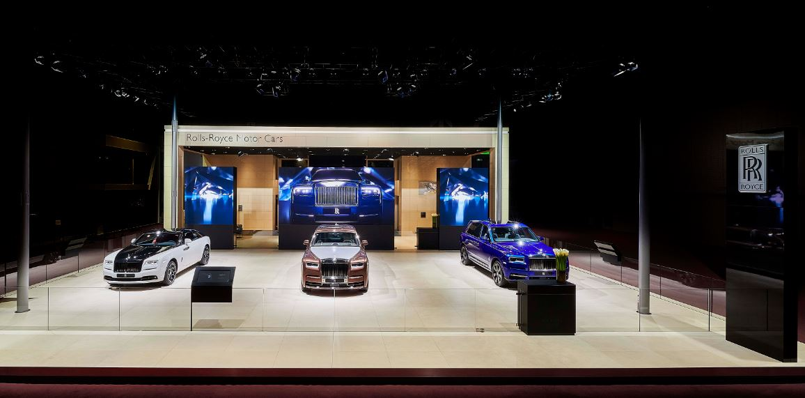 Messestand: Rolls-Royce, Shanghai Auto China 2019